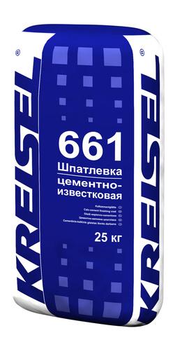 Шпатлевка для наружных работ ZEMENTGLATTE 661 Kreisel